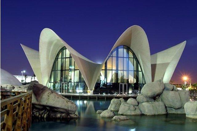 Restaurante Submarino del Oceanográfic