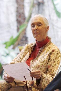 La primatóloga británica Jane Goodall
