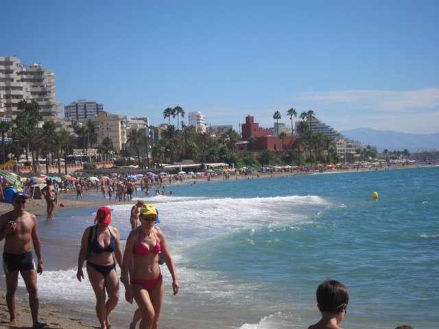 Playa de Benalmádena Costa (Málaga)