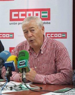 El vicesecretario general de UGT-A, Dionisio Valverde