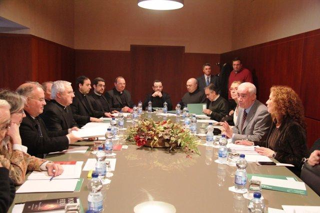 Se réune la comisión mixta Iglesia-Cultura