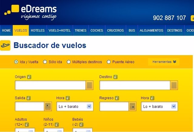Web eDreams