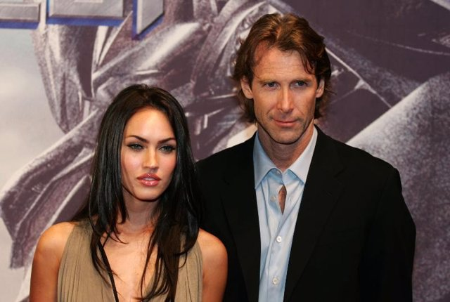 Megan Fox y Michael Bay