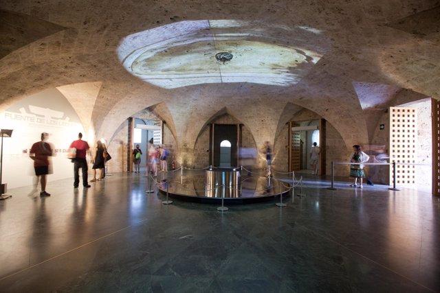 Exposición de los Leones, en la Alhambra