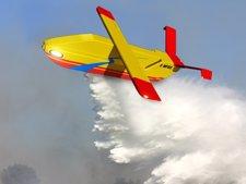 Drone para apagar incendios forestales