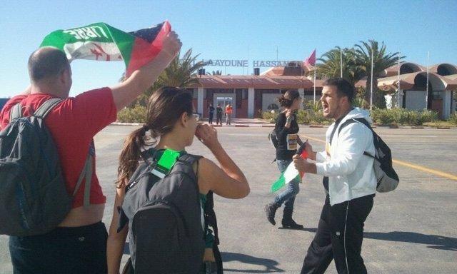 Activistas canarios