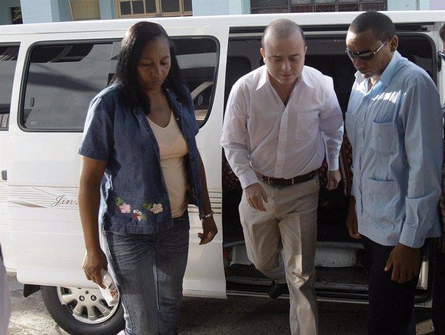 Ángel Carromero, condenado en Cuba