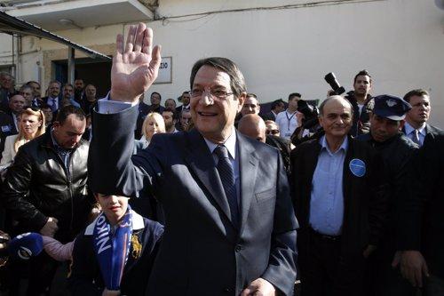Nicos Anastasiades líder conservador de Chipre