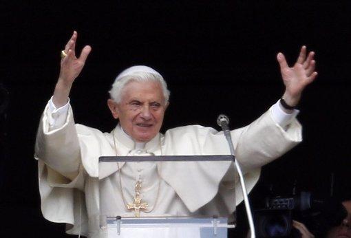 Papa<strong> Benedicto XVI</strong> en su último Ángelus
