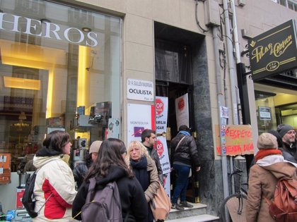 Suspendido el desahucio de una octogenaria en La Coruña tras un acuerdo con los propietarios de su vivienda