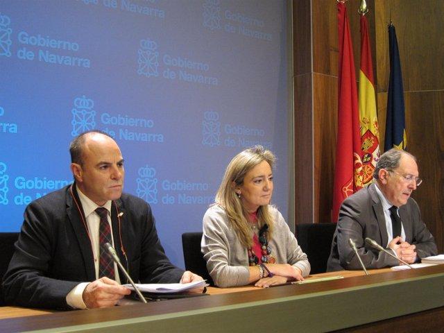 Presentación del balance de trasplantes 2012 en Navarra.
