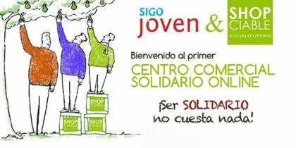Shopciable firma un acuerdo con 'Sigojoven.com' para solidarizar las redes sociales