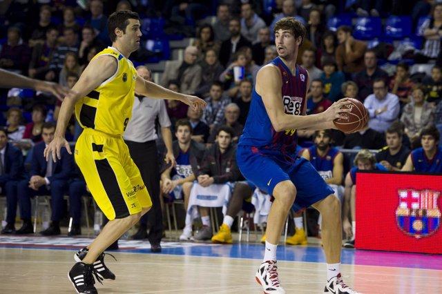 Blagota Sekulic Ante Tomic CB Canarias Barcelona Regal