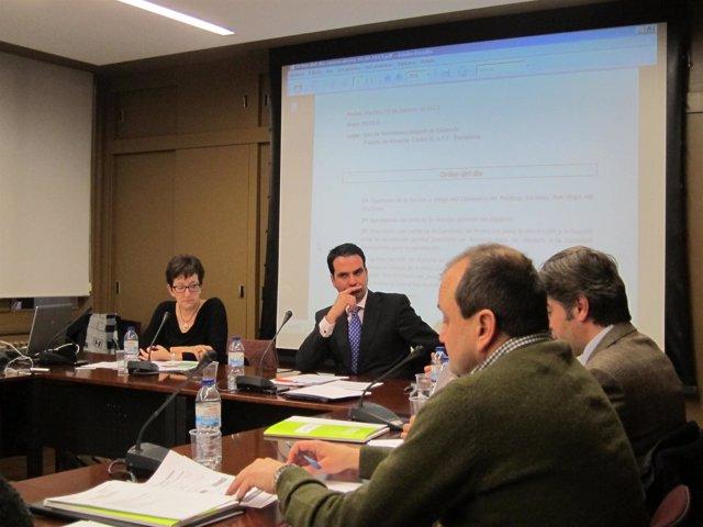 Reunión de la comisión de seguimiento del Acuerdo contra la violencia de género.