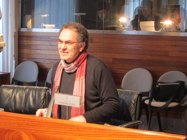 José Ramón Quirós en la Junta General