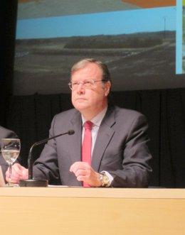 El consejero de Fomento y Medio Ambiente, Antonio Silván