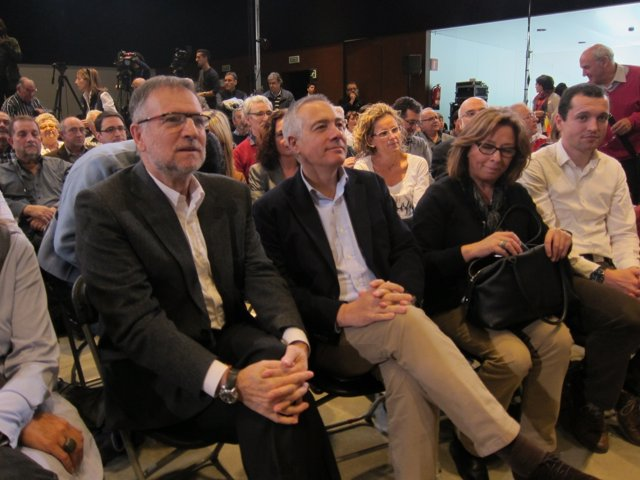 Marcelino Iglesias (PSOE) y Pere Navarro (PSC)