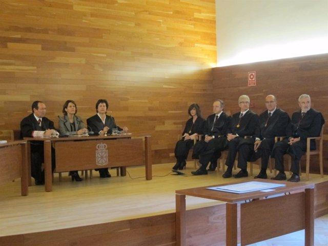 Toma de posesión del presidente del Consejo de Navarra.