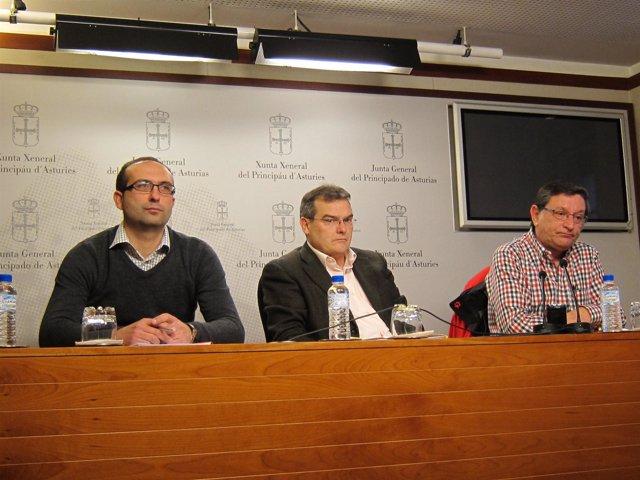 Damián Manzano, Ángel González Y Eduardo Donaire