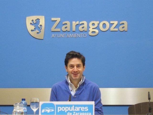 El concejal del PP, Sebastián Contín