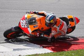 """Motociclismo.- Pedrosa (Honda): """"La pista no estaba al cien por cien, pero hemos rodado bien"""""""
