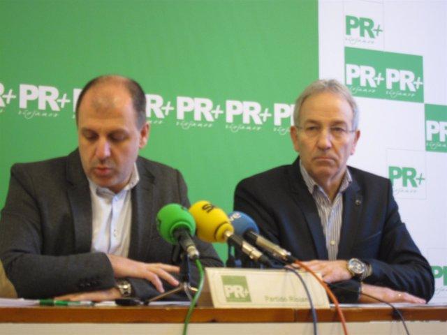 El Presidente Del Partido Riojano (PR+), Miguel González De Legarra