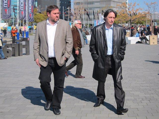 Oriol Junqueras, Jordi Portabella (ERC)