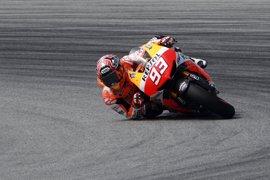 """Motociclismo.- Márquez (Honda): """"Esperemos que mañana el asfalto esté mejor y no llueva"""""""