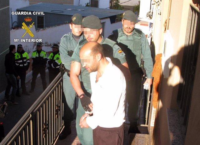 Tres nuevos golpes al tráfico de drogas en las comarcas del Guadalentín