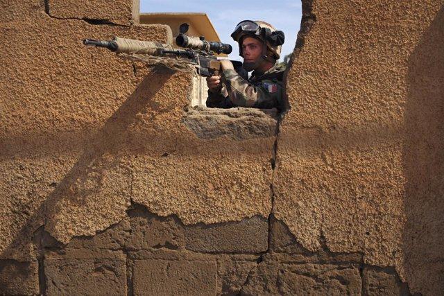 Soldados Malí, Gao, enfrentamientos
