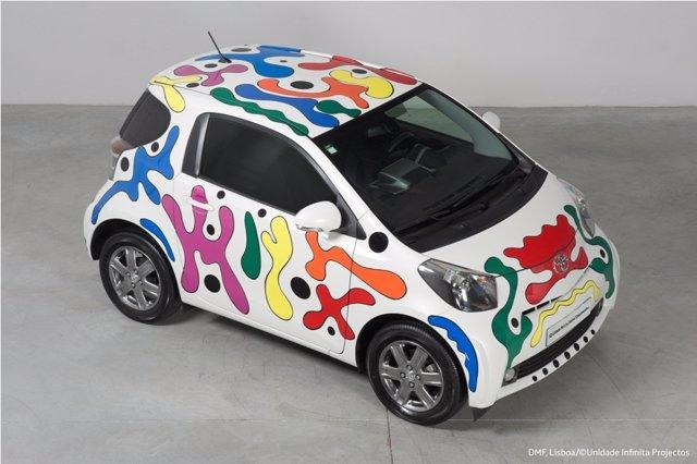 Toyota iQ by Joana Vasconcelos