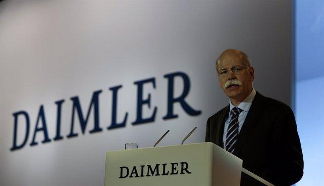 Dieter Zetsche, presidente de Daimler