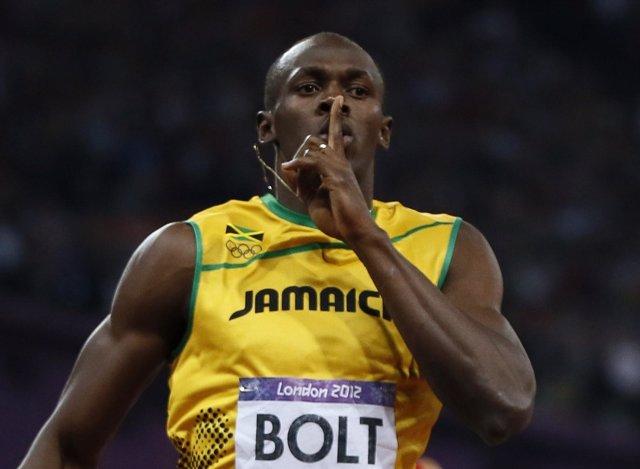 El jamaicano Usain Bolt