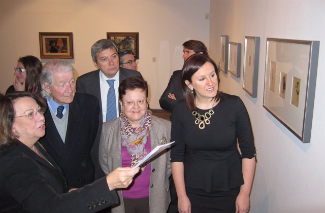 Mª José Catalá, Luisa Pastor, Víctor Lorente Sorolla y Consuelo Luca de Tena