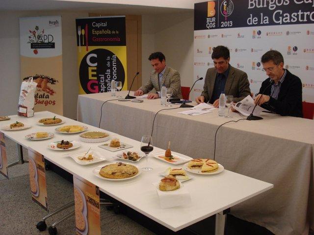 Concurso de Tortillas en Burgos