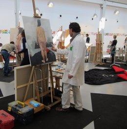 Vista del taller que imparten López y Toral en Valladolid