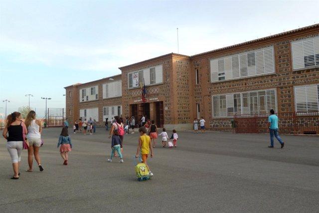 Colegio, niños, alumnos, curso escolar