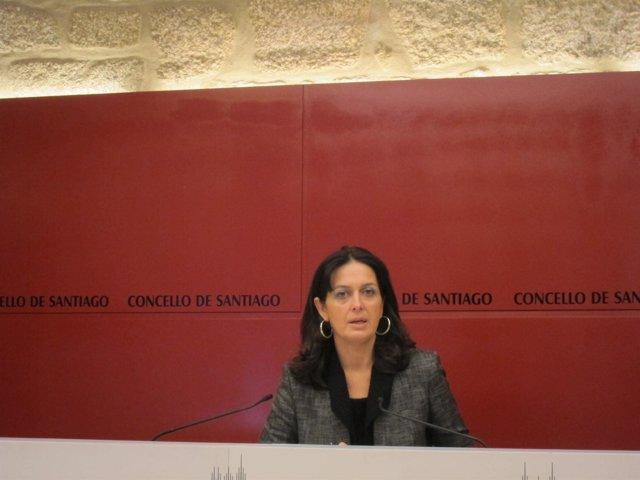 María Pardo, nueva portavoz del gobierno local de Santiago