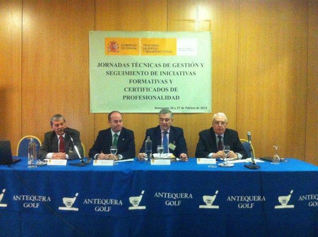 Presentación de las Jornadas de Empleo en Antequera