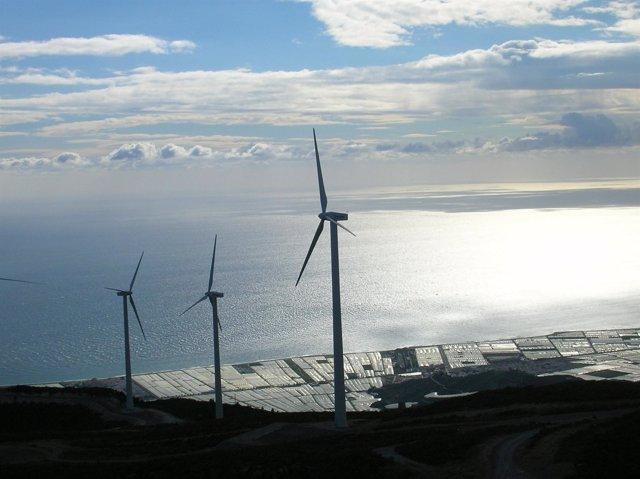 Energía eólica en Andalucía