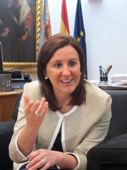 La consellera de Educación, Cultura y Deporte, María José Català