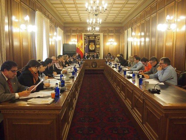 Pleno de la Diputación de Cuenca