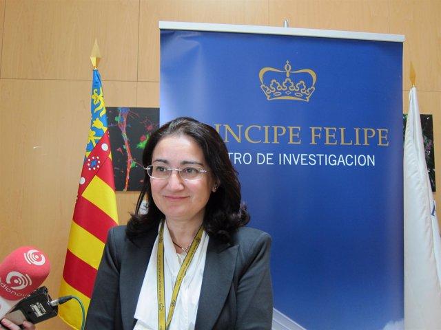La directora del CIPF