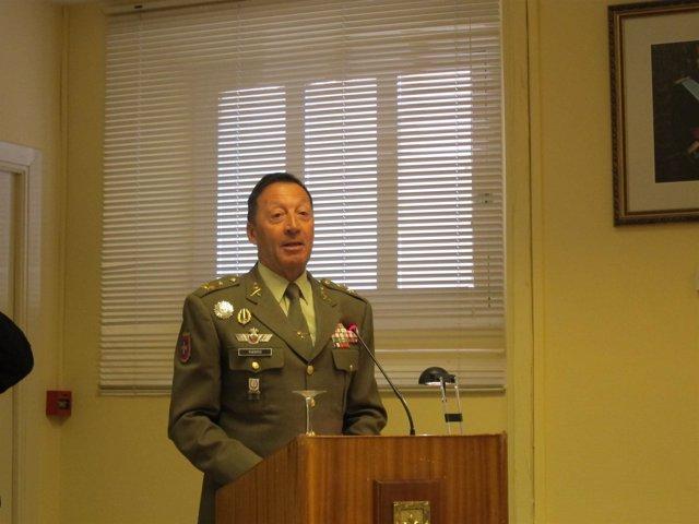 Teniente general jefe del Madoc, Francisco Puentes Zamora