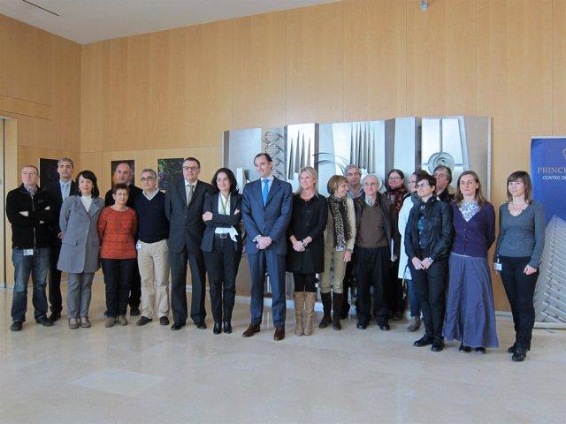 Manuel Llombart  visita el CIPF