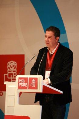 Besteiro ante el comité provincial del PSOE