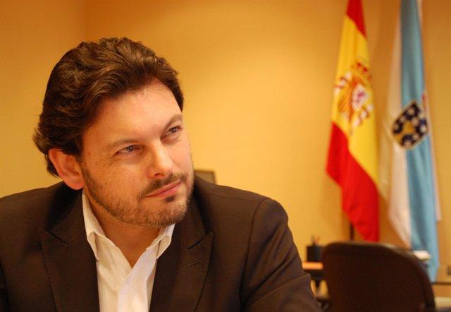 Entrevista con el secretario xeral de Emigración, Antonio Rodríguez Miranda