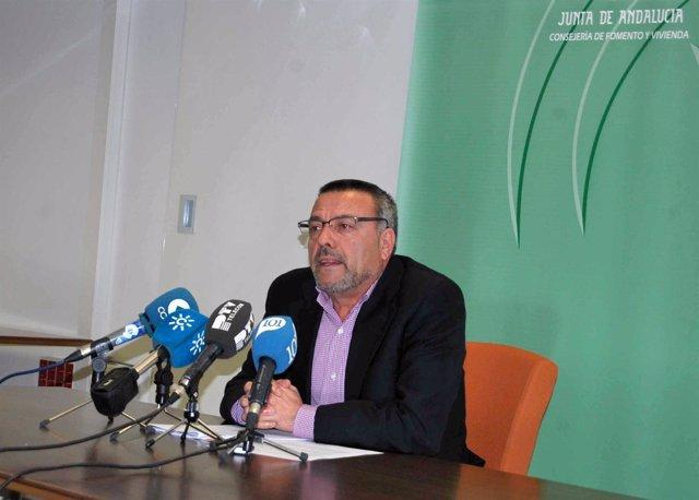 El delegado de Fomento y Vivienda, Manuel García