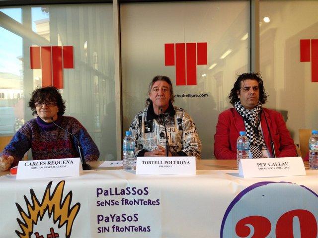 Presentación del 20 aniversario de Payasos sin Fronteras
