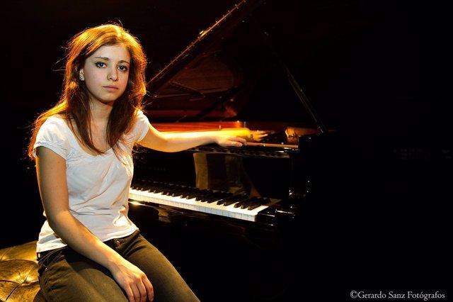 La joven pianista vallisoletana Milena Martínez